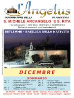 Dicembre 2014 - Parrocchia di S. Michele Arcangelo e S. Rita