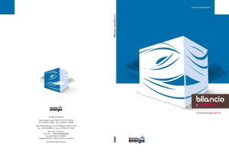 Bilancio Esercizio 2013