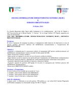 e rinnovo brevetto blsd - Comitato Regionale Campania F.G.I.