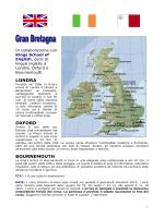 Inglese in GB, Irlanda e Malta 2014