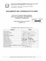 Documento finale 5A INFO