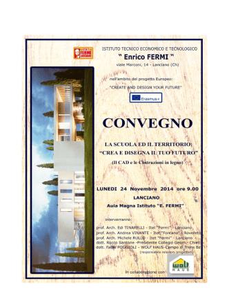 CONVEGNO - I.t.e.t. Enrico Fermi Lanciano