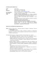 CV Piva - Nucleo di Valutazione