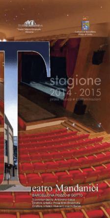 brochure stagione artistica 2014-2015
