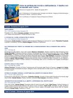 Programma Rimini Meeting 2014 - Ministero del Lavoro e delle