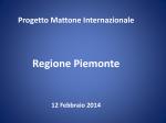 Gruppo di lavoro interdirezionale - Progetto Mattone Internazionale