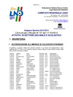 Com. Uff. LND-SGS ALR-GIR 17.10.2014 (Errate corrige)
