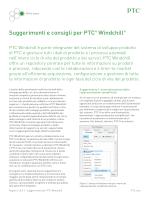 Suggerimenti e consigli per PTC® Windchill®