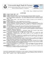 MANIFESTO ELE 1999/2000 - Università degli Studi di Ferrara
