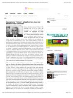"""Liberainformazione Operazione """"Tritone"""" (alias"""