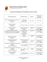 Elenco anno 2013 - Provincia di Bergamo