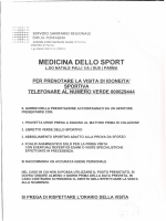 AGONISTICA.modalità e moduli visita medica