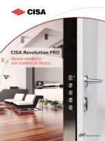 PDE671 Catalogo CISA Revolution PRO IT.indd