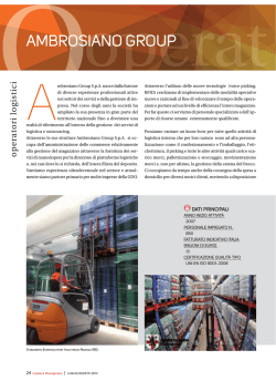 Brochure PDF - Ambrosiano Group