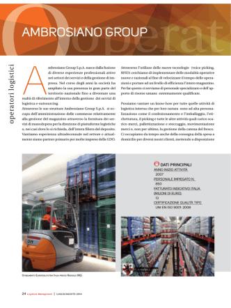 Brochure PDF - Ambrosiano Group