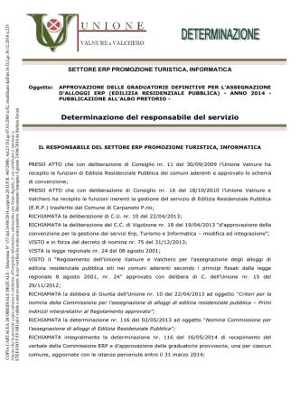 assegnzione alloggi ERP - Comune di San Giorgio Piacentino