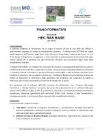 PIANO FORMATIVO_Corso HEC-Ras