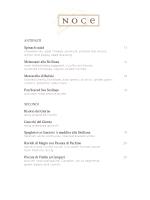 print - NOCE Restaurant