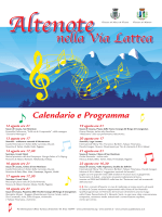 locandina concerti - Comune di Sauze di Cesana