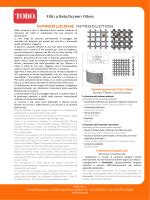 Scheda Tecnica Technical Sheet