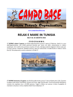 RELAX E MARE IN TUNISIA