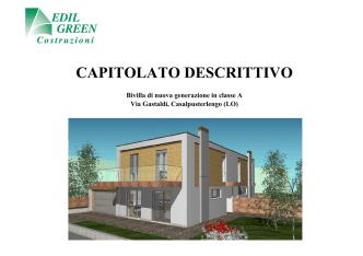 CAPITOLATO BIVILLA VIA GASTALDI
