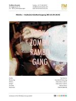 Mimiks – VodkaZombieRambogang Labelsheet
