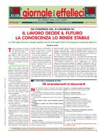 Giornale della effelleci di dicembre 2013