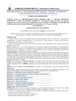 Determina a contrarre - Regione Autonoma della Sardegna