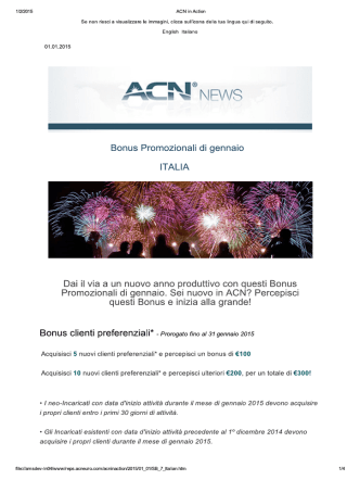 ACN in Action