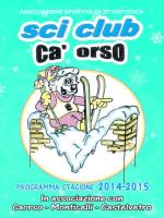 Libretto programma 2014-2015 - Comune di Castelvetro Piacentino