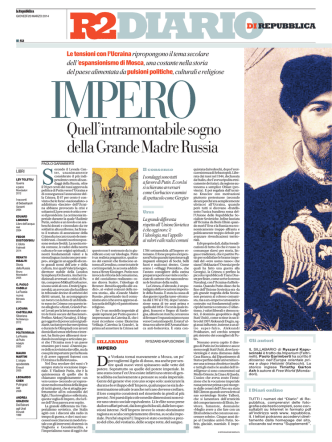 20 Marzo 2014 - La Repubblica