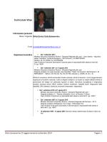 Curriculum Vitae - Liceo Classico e Linguistico Statale Aristofane
