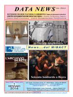 Gennaio edizione completa - Centro Documentazione beni Culturali
