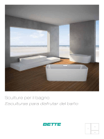 Catálogo Bette, esculturas para el baño