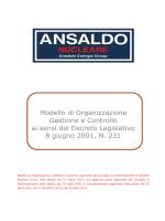 ANN_Modello di Organizzazione, Gestione e Controllo ex D.Lgs