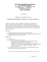 4 SU C - Liceo Statale GM Colombini
