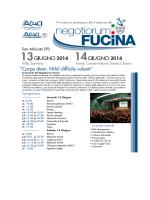 scarica il programma - Negotiorum Fucina
