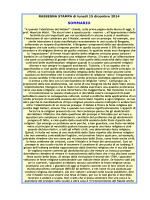 Rassegna stampa 15 dicembre 2014