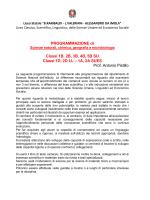 Programmi - Alessandro Da Imola