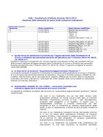 FAQ Sistema informativo MIUR - Inserimento domande graduatorie