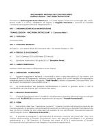 Scarica il regolamento (PDF)