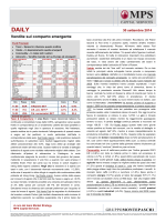 DAILY - MPS Capital Services Banca per le Imprese