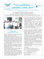 Notiziario Numero 5 - Agosto 2014