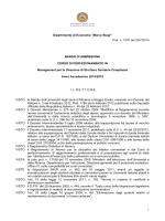 Bando Completo (formato PDF) - Università degli studi di Modena e