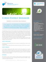 Corso Energy Manager - Unione Professionisti