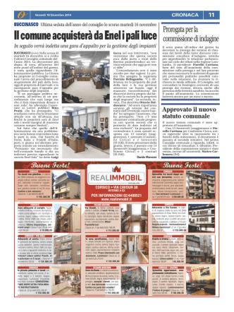 19 dicembre 2014, Il Giornale dei Navigli
