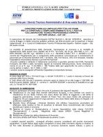 Bando Settore Legale - Ordine degli Avvocati di Prato