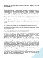 Verbale del Consiglio del 24.02.2014