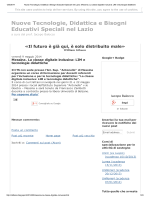 Messina. La classe digitale inclusiva: LIM